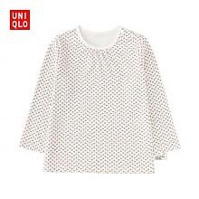 凑单品:UNIQLO 优衣库 婴儿/幼儿 圆领T恤(长袖) 185448