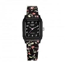 CASIO 卡西欧 LQ-142LB-1B 指针系列 女士布艺表带手表